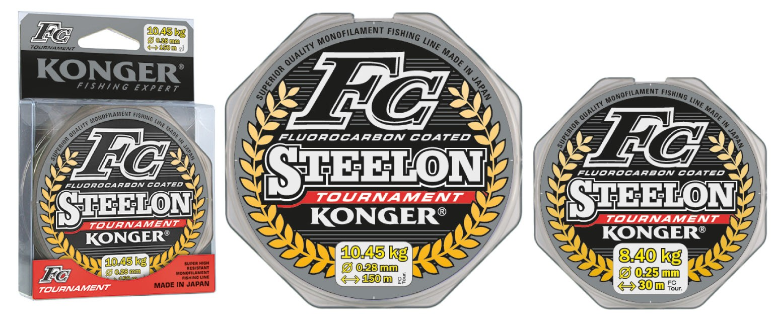Konger Vlasec Steelon FC Tournament 0,18mm/150m