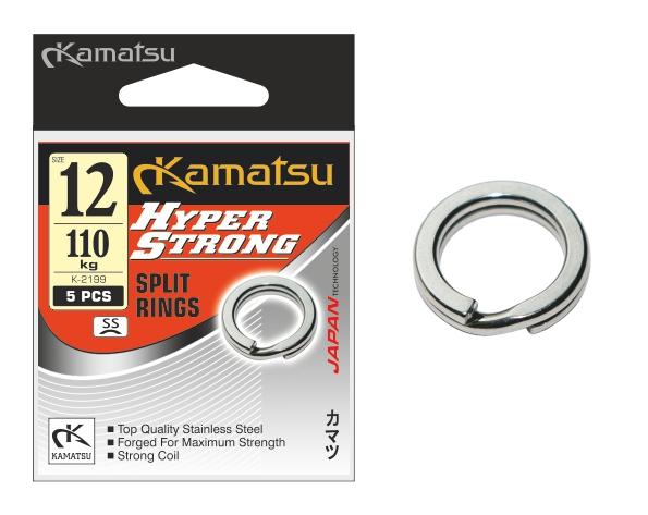 Kamatsu – Pérový kroužek Hyper Strong SS 5ks vel.8/70kg
