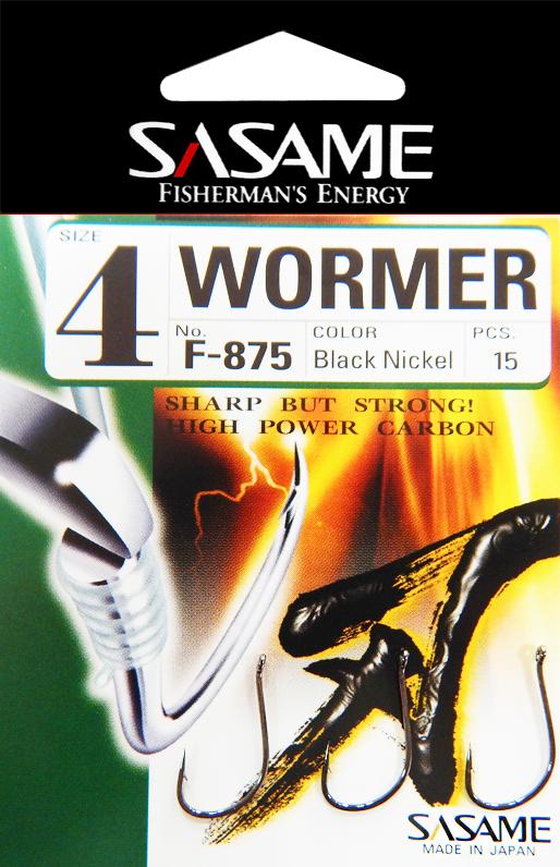 Sasame Háček Wormer s očkem