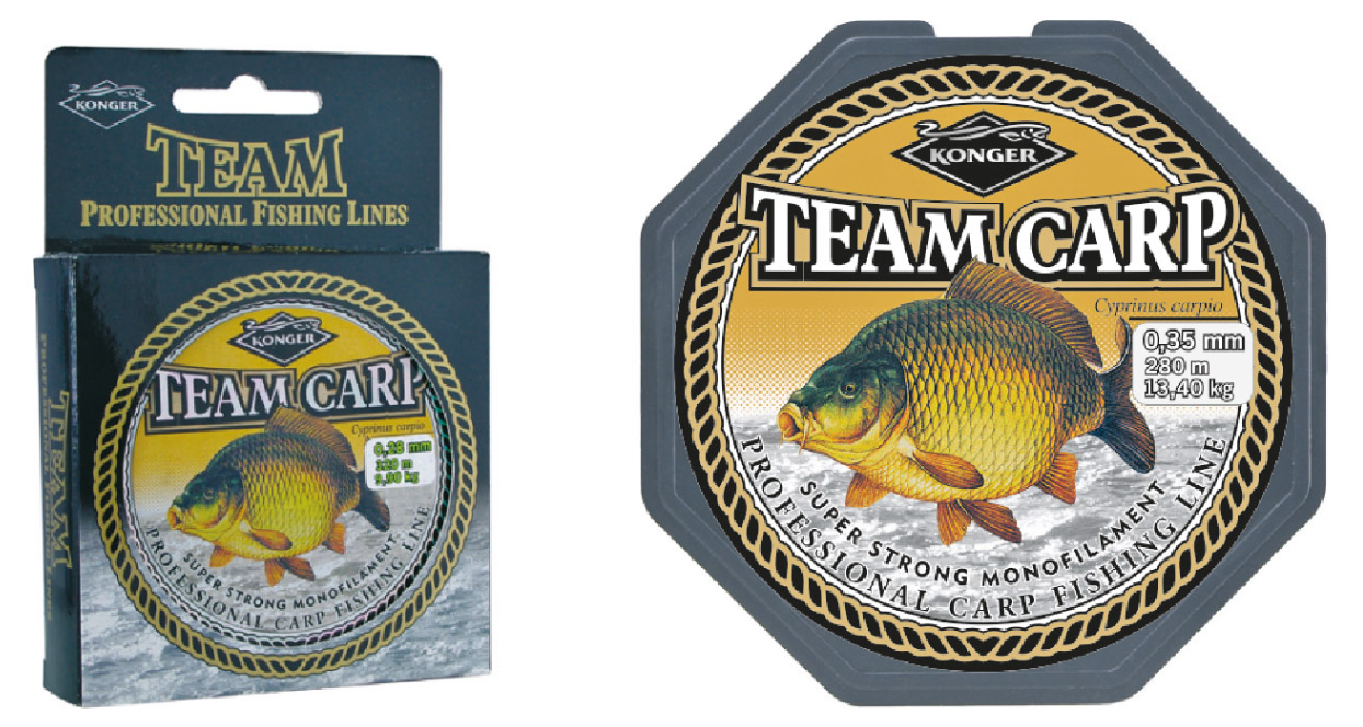 Konger - Vlasec Team Carp 0,28mm/320m