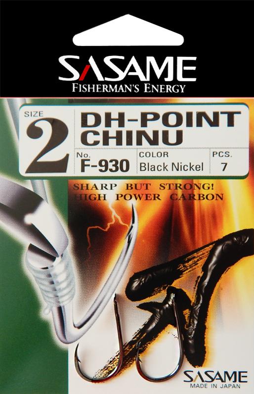 Sasame - Háček DH-Point Chinu s lopatkou vel.3