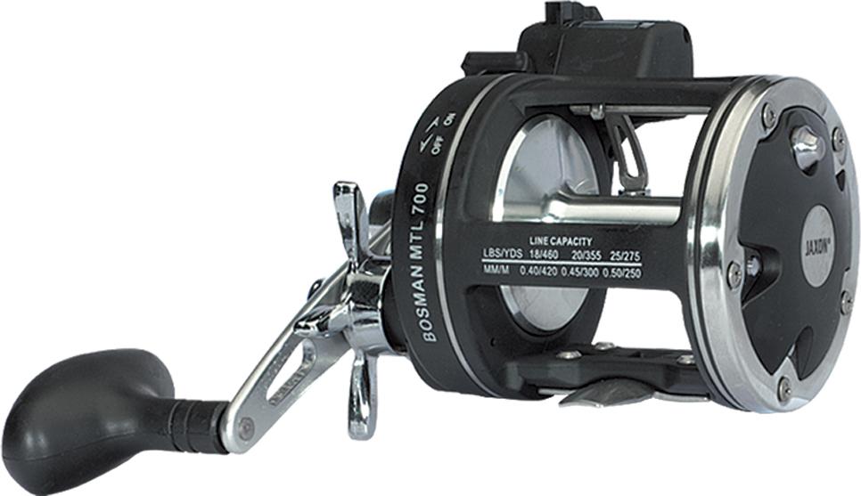 BOSMAN MTL REEL Size 700 Ball bearing/OWC 4-OWC Spare spool 1x