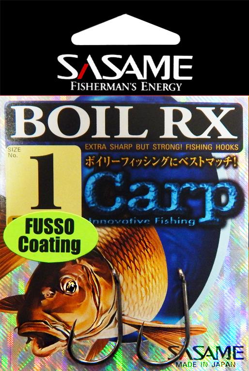 Sasame Háček Boil RX Fusso teflon s očkem