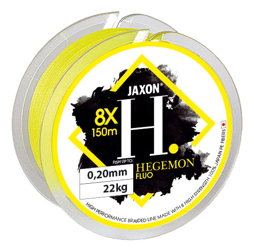 HEGEMON 8X FLUO BRAIDED LINE Diameter mm 0,25mm Length 1000m