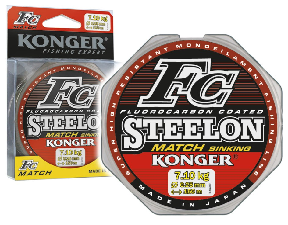 Konger Vlasec Steelon FC Match 0,22mm/150m