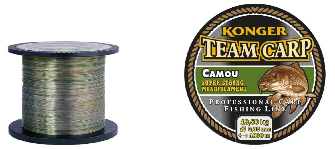 Konger Vlasec Team Carp Camou 600m/0,35mm