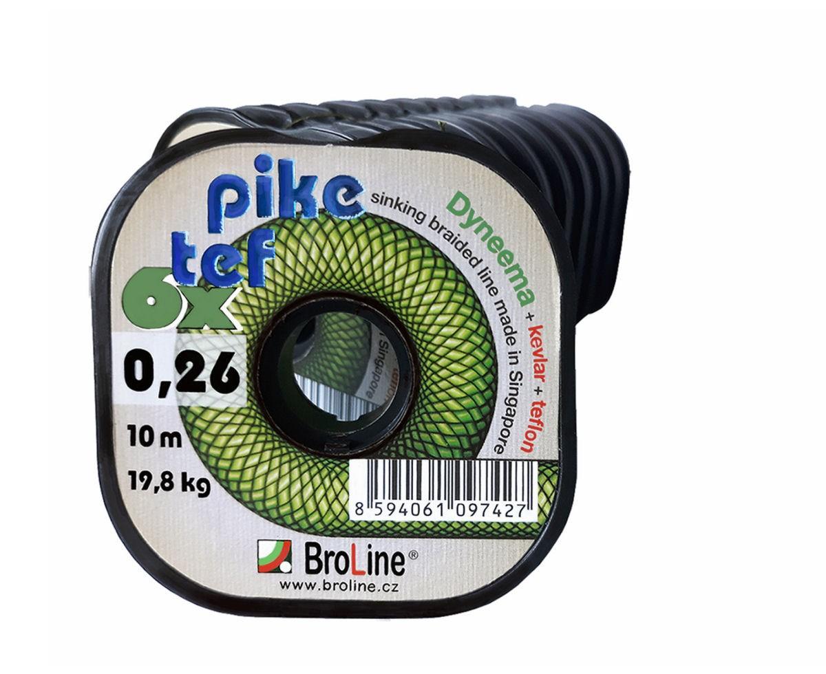 BroLine - PIKE TEF Dyneema 0,23mm/10m