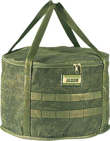 Jaxon Míchací taška na krmení s víkem CAMO