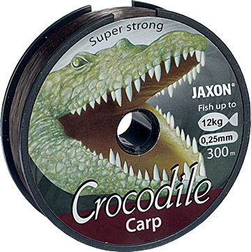 Jaxon - Vlasec Crocodile Carp 600m 0,325mm