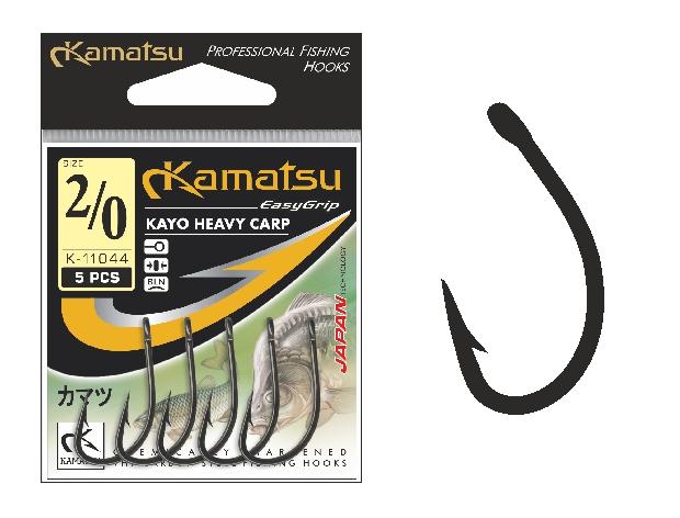 KaKamatsu - Háček Kayo Heavy Carp s očkem vel.8
