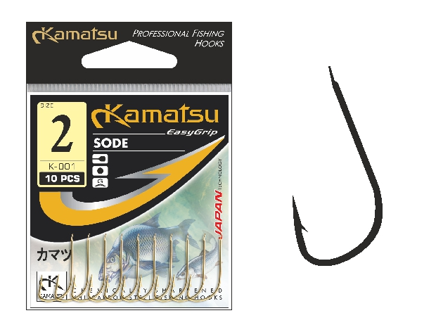Kamatsu - Háček Sode s lopatkou vel.16